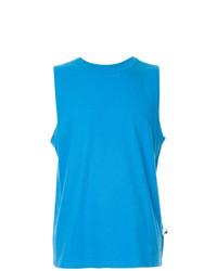 Camiseta sin mangas azul de Alexander Wang
