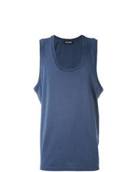 Camiseta sin mangas azul de Neil Barrett