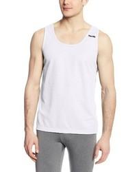 Camiseta sin mangas blanca de Spalding
