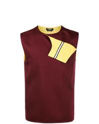 Camiseta sin mangas burdeos de Calvin Klein 205W39nyc