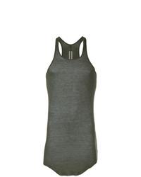 Camiseta sin mangas en gris oscuro de Rick Owens
