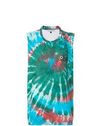 Camiseta sin mangas en multicolor