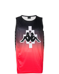 Camiseta sin mangas en multicolor de Marcelo Burlon County of Milan