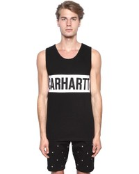 Camiseta sin mangas en negro y blanco