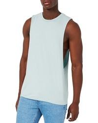 Camiseta sin mangas en verde menta