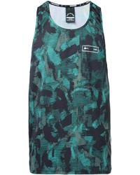 Camiseta sin mangas estampada en verde azulado de The Upside