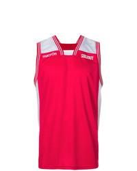 Camiseta sin Mangas Estampada Roja de Sold Out Frvr
