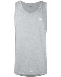 Camiseta sin mangas gris de Nike
