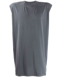 Camiseta sin mangas gris de Rick Owens DRKSHDW