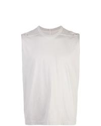 Camiseta sin mangas gris de Rick Owens