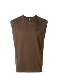 Camiseta sin mangas marrón de Dust