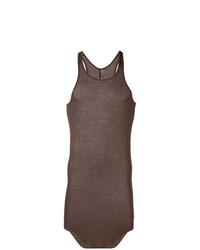 Camiseta sin mangas marrón de Rick Owens