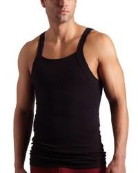 Camiseta sin mangas negra de 2(X)IST
