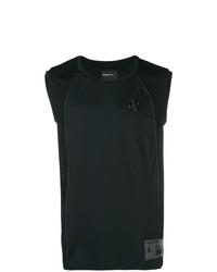 Camiseta sin mangas negra de Philipp Plein