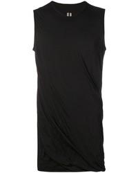Camiseta sin mangas negra de Rick Owens DRKSHDW