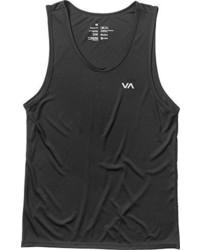 Camiseta sin mangas negra de RVCA