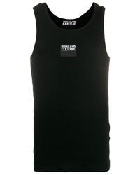 Camiseta sin mangas negra de VERSACE JEANS COUTURE