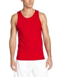 Camiseta sin mangas roja de Russell Athletic