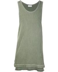 Camiseta sin mangas verde oliva