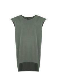 Camiseta sin mangas verde oliva de OSKLEN