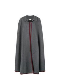 Capa en gris oscuro de Hermès Vintage
