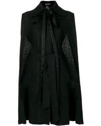 Capa Negra de Ann Demeulemeester