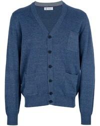 Cárdigan azul de Brunello Cucinelli