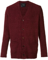 Cardigan burdeos original 412182
