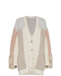 Cárdigan de patchwork gris de Stella McCartney