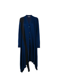 Cárdigan largo azul marino de Stella McCartney