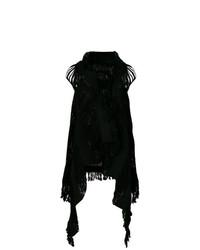 Cárdigan largo negro de Caravana