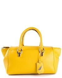 Cartera de cuero amarilla de Diane von Furstenberg