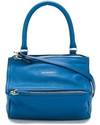 Cartera de cuero azul de Givenchy