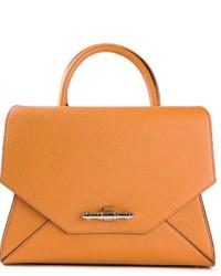 Cartera de Cuero Naranja de Givenchy