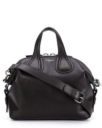 Cartera de cuero negra de Givenchy