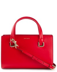 Cartera de cuero roja de Dolce & Gabbana