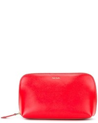Cartera Sobre de Cuero Roja de Paul Smith