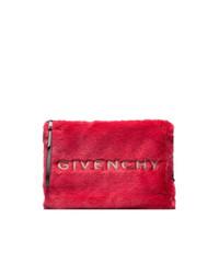 Cartera sobre de pelo roja de Givenchy