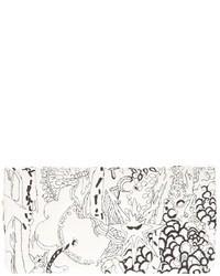 Cartera sobre estampada en negro y blanco de Tsumori Chisato
