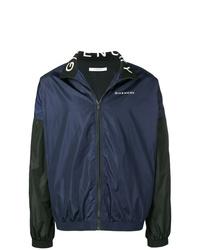 Cazadora de aviador azul marino de Givenchy