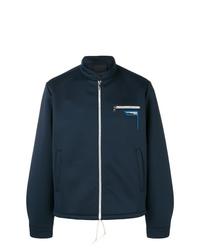 Cazadora de aviador azul marino de Prada