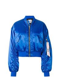 Cazadora de aviador azul de MSGM
