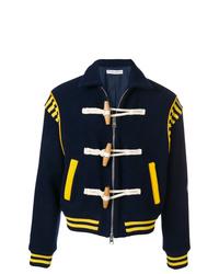 Cazadora de aviador de lana azul marino de JW Anderson