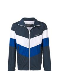 Cazadora de aviador en azul marino y blanco de CK Calvin Klein