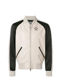 Cazadora de aviador en blanco y negro de Givenchy
