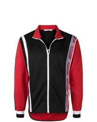 Cazadora de aviador en rojo y negro de Givenchy