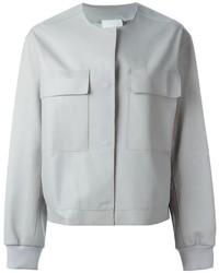 Cazadora de aviador gris de DKNY