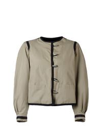Cazadora de Aviador Gris de Yves Saint Laurent Vintage
