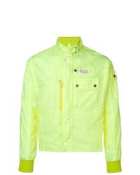 Cazadora de aviador ligera en amarillo verdoso de Maison Margiela