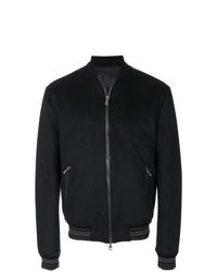 Cazadora de aviador negra de Dolce & Gabbana